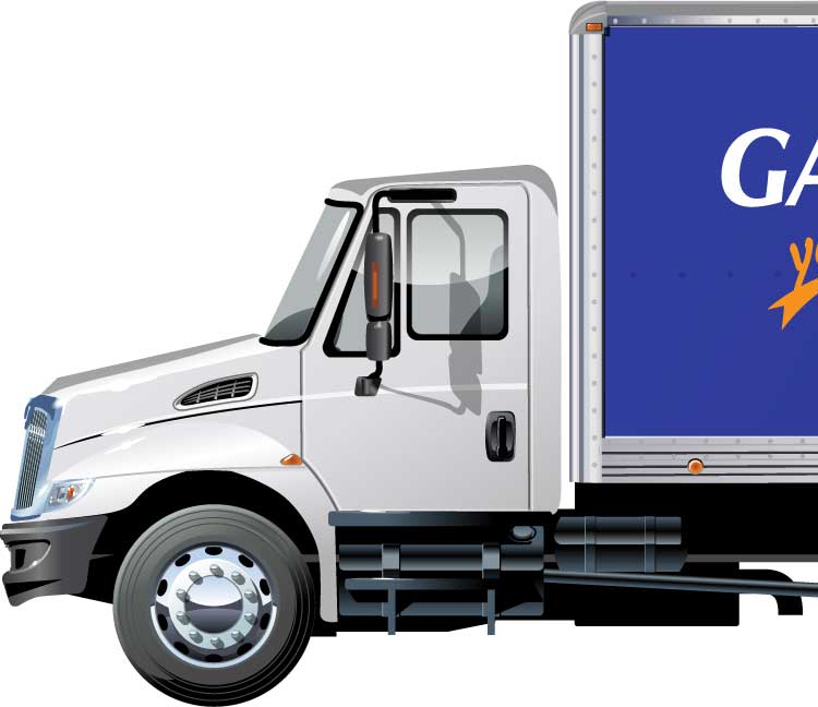 Gardner-White Delivery Truck