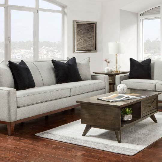 Mid-Century Modern Inspired Living Room