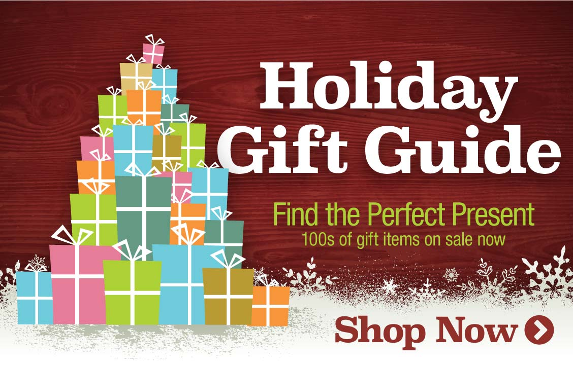 Holiday Gift Guide: find the perfect present with 100s of gift items on sale now