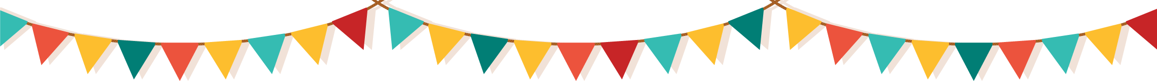 Pennant banner decoration