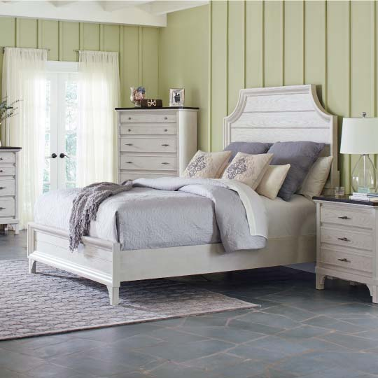 Mystic Bedroom Collection: white farmhouse-inspired