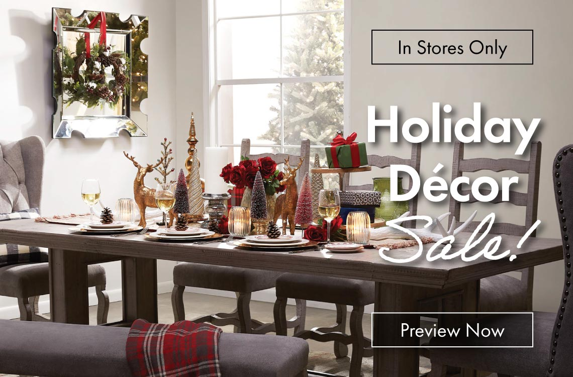 In-Stores Only: Holiday Decor Sale