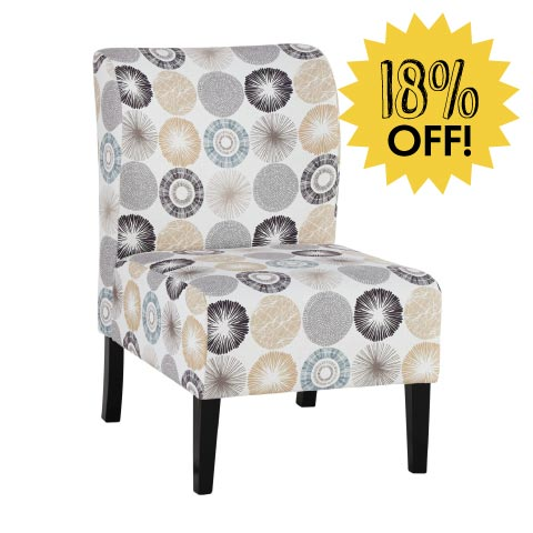Accent chair 18% off