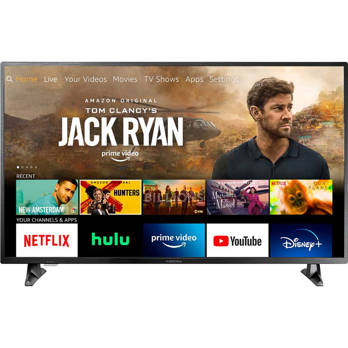 Insignia 4K TV with Amazon Fire built-in