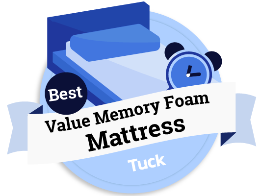Best Value Memory Foam Mattress - Tuck