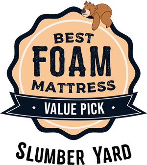 Best Foam Mattress Value Pick - Slumber Yard