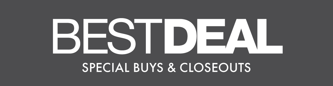 Best Deal: Special Buys & Closeouts